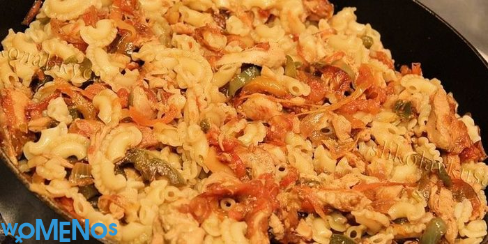 Treat yourself to pasta with chicken in different variations