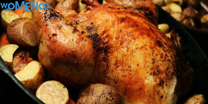 An easy and affordable way to cook chicken in a jar in the oven