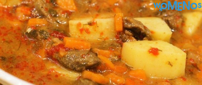 Delicious offal dish: recipes for making goulash