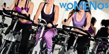 Workout on an elliptical trainer