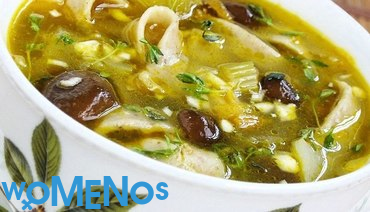Features of cooking soup and other dishes from frozen mushrooms