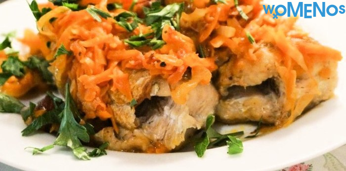 Pollock marinated with carrots and onions: methods of cooking delicious fish dishes